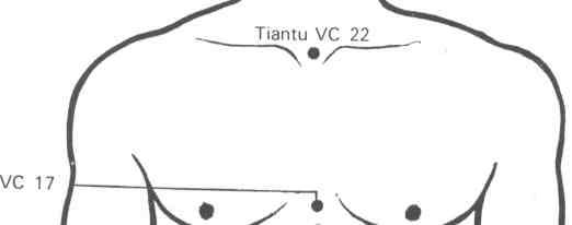Resultado de imagen para 22vc púnto de los meridianos